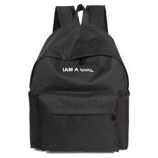 JECKSION Unisex Boys Girls Canvas Backpack 2016 Fashion Rucksack School Shoulder Bag #1