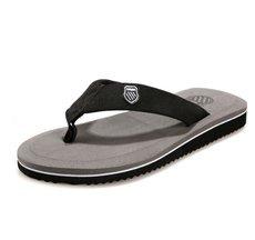 Summer New Men Leisure Slipper Flip Flops EU Size 40-44 Best Price Cheap Man Beach Shoes Casual Sandals Brown / Grey / Yellow