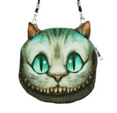 New Fashion Women Cute Shoulder Bag Cat Face Pouch Bag Cartoon Print Zipper Closure Messenger Bag Coin Purse Clutch Bag