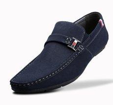 40-45 Men Loafers Breathable Comfortable Fashion FRZ Brand Men Flats #CE86801BU