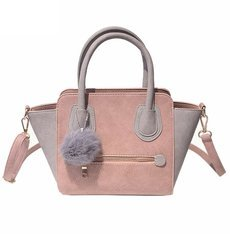 2016 Spring Smiley PU Leather Tote Bag Women Trapeze Fashion Designer Handbags High Quality Ladies Bags Vintage Crossbody Bags