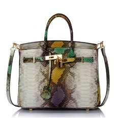 RoyaDong 2016 Women Leather Handbags Cowhide Genuine Leather Bags Serpentine Shoulder Bags Bolsos Mujer Grandes Brand Sac A Main