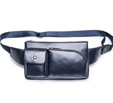 men′s chest pocket bag small mobile phone bag Korean male package business casual small tide pack